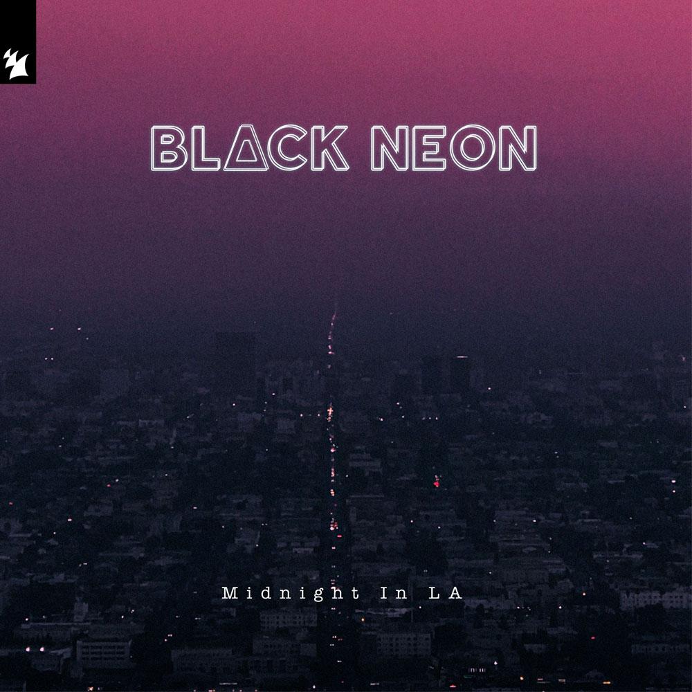 BLACK NEON MIDNIGHT IN LA